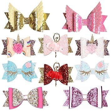 20 Pcs//lot Fashion Elegant Girls Candy Color Kids Bow Alligator Clip Hair Decor
