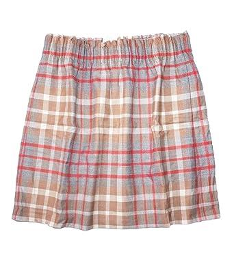 6631414bc J Crew Factory Women s Plaid Wool Blend Sidewalk Pull-on Skirt at ...
