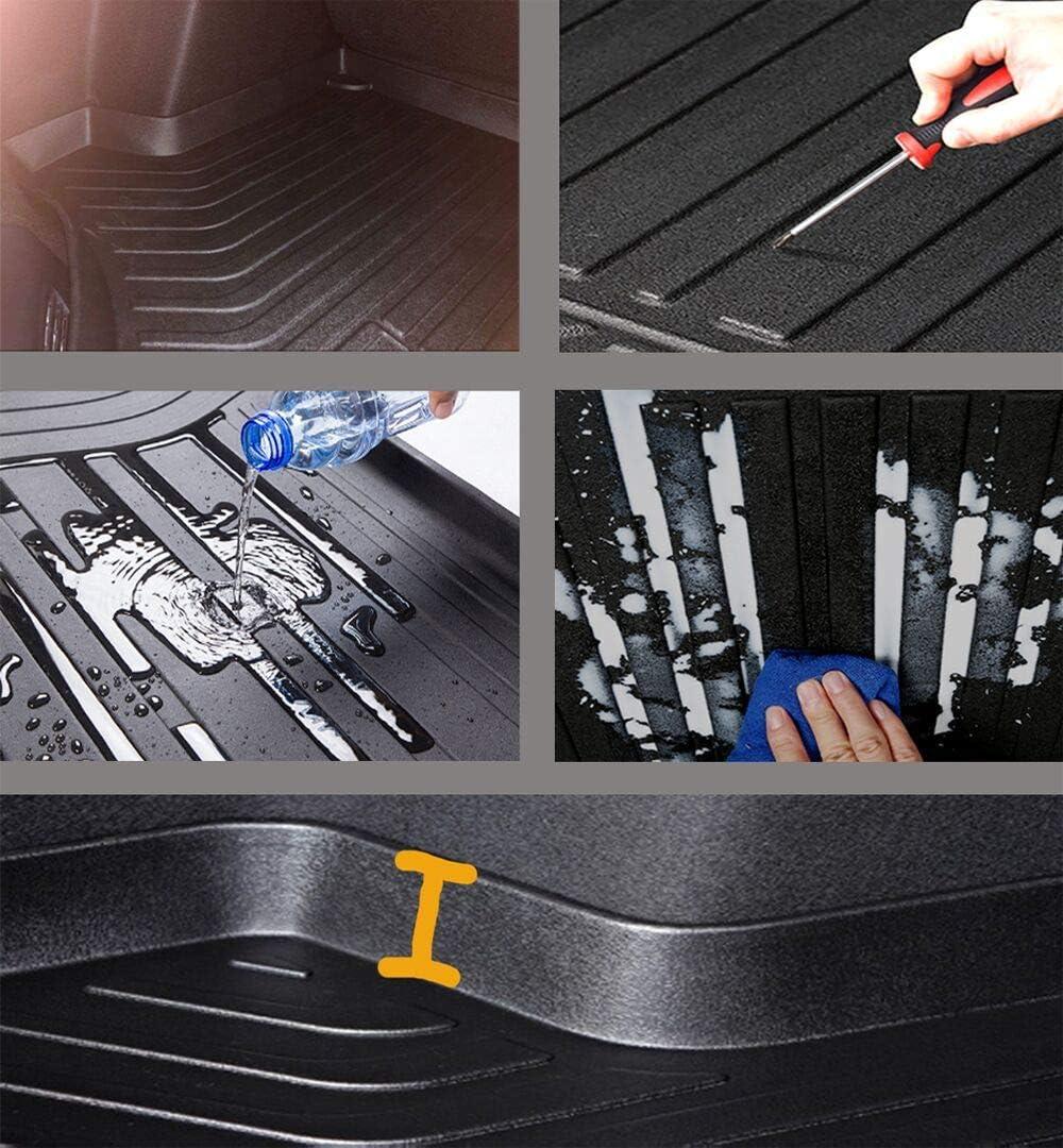 Caartonn Trunk Cargo Mat Cargo Tray Cargo Liner Trunk Cover Floor Mat for Honda CRV 2012-2016
