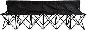 Petra Sports Team Bench, Tailgating, Soccer, Basketball, Lacrosse Sideline Benches. Lightweight SEAT, FOLD-ABLE and Portable W/Carry Bag