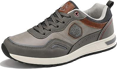 ARRIGO BELLO Zapatos Hombre Vestir Casual Zapatillas Deportivas Transpirables Gimnasio Correr Running Sneakers Al Aire Libre Tamaño 41-46: Amazon.es: Zapatos y complementos