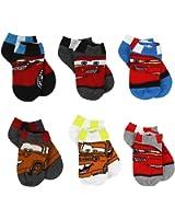 Disney Cars Boys 6 pack Socks (Toddler/Little Kid/Big Kid)