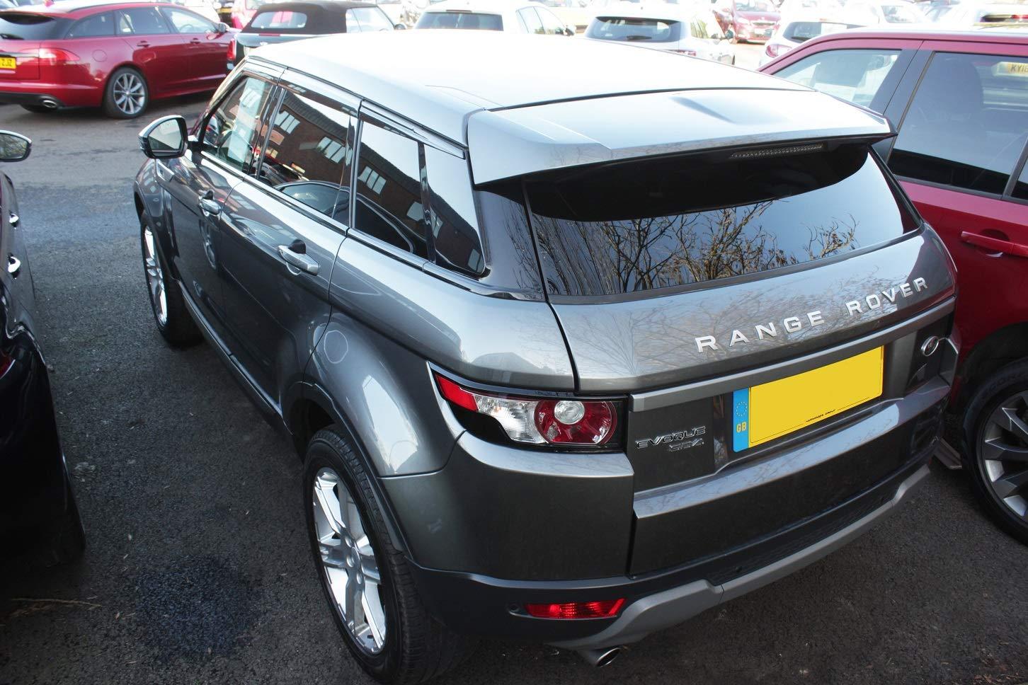 6 Unidades Autoclover Juego de deflectores de Viento para Range Rover Evoque 2011+