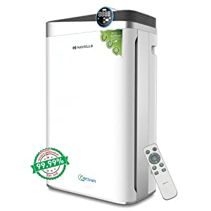 Havells Freshia AP-58 85-Watt Air Purifier with Remote (White/Black)