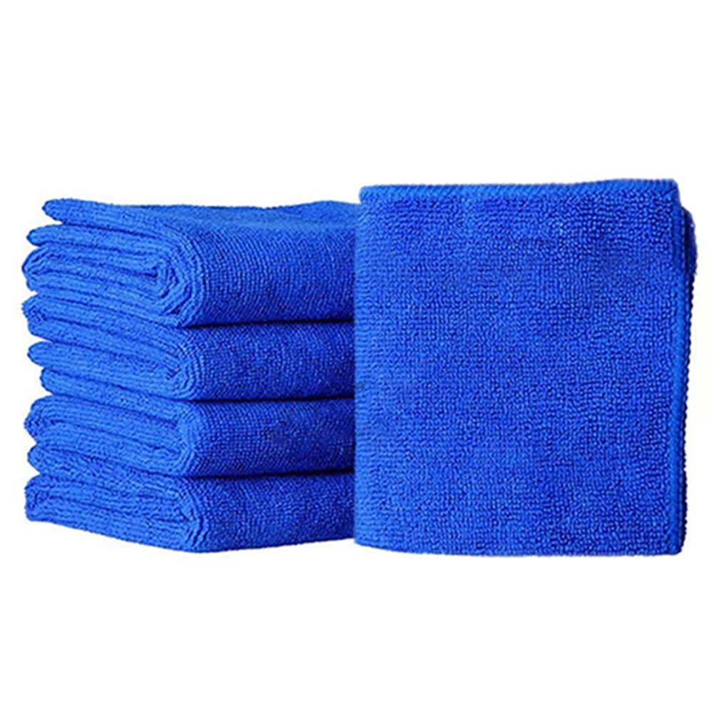 5Pcs Multi-purpose Microfiber Car Cleaning Cloths Absorbent Fast Drying Dishcloth Towels Washcloth for Kitchens,Car,Dusting