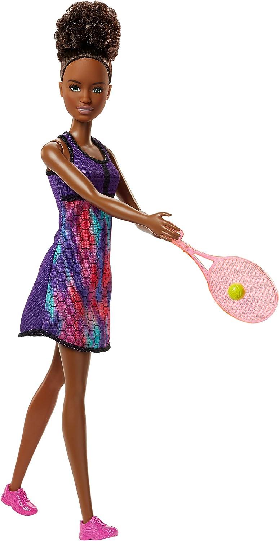 Amazon.es: Barbie Quiero Ser tenista, muñeca con accesorios ...