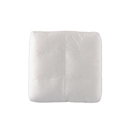 Colchón Cojín relleno 40 x 40 x 10 cm, como para exteriores ...