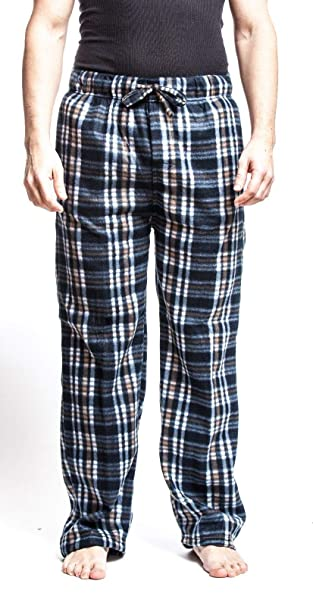 219b23672d Emprella Men s Flannel Fleece Brush Pajama Sleep   Lounge Pants ...