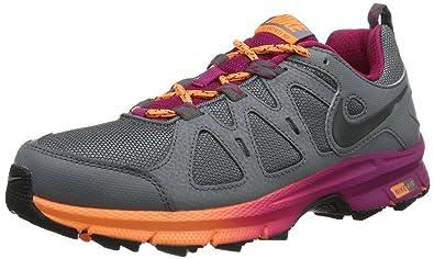 94a6a22e628 Nike Womens Air Alvord 10 WS Running Shoes Black Schwarz (Black Black White