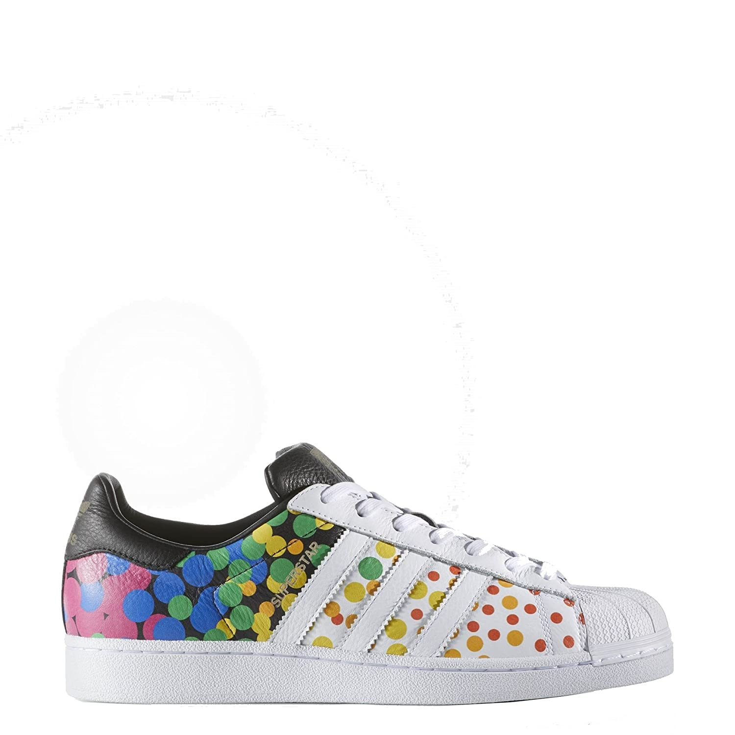 adidas Men's Superstar Pride Pack Fitness Shoes, White