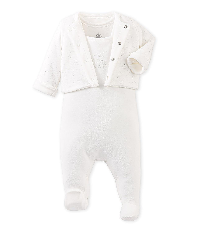 Petit Bateau Unisex Baby Badebekleidung Ens Db Sm+Vest Rev