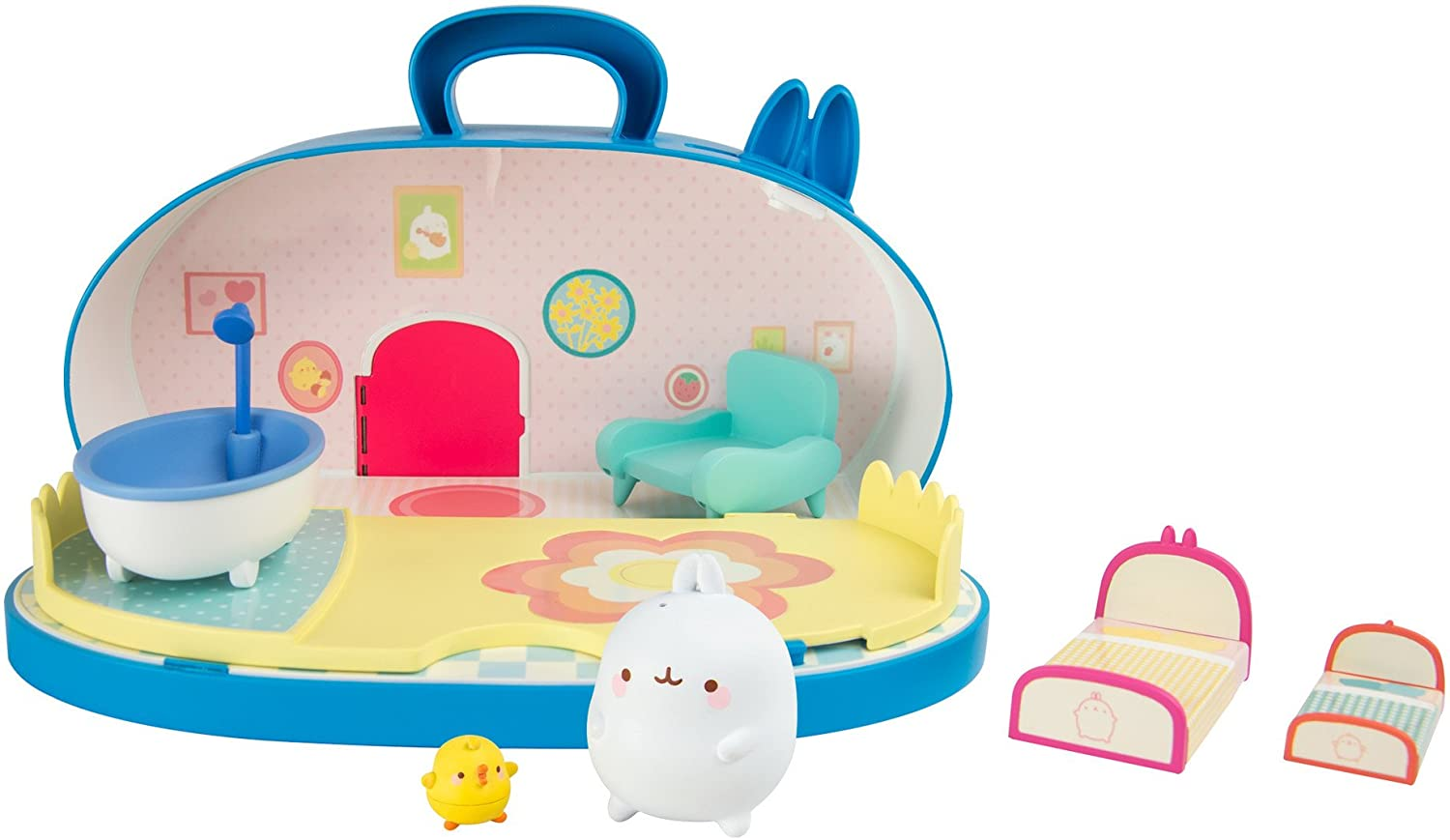 Multicoloured Molang L66032 Home Playset with Figures