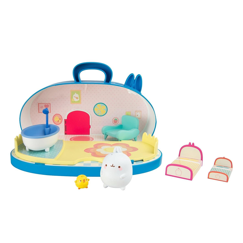 Molang L66032 Tomy Spielset Puppenhaus | Ideal als Geschenk für Kinder ab 3 Jahre Cartoons & Comics
