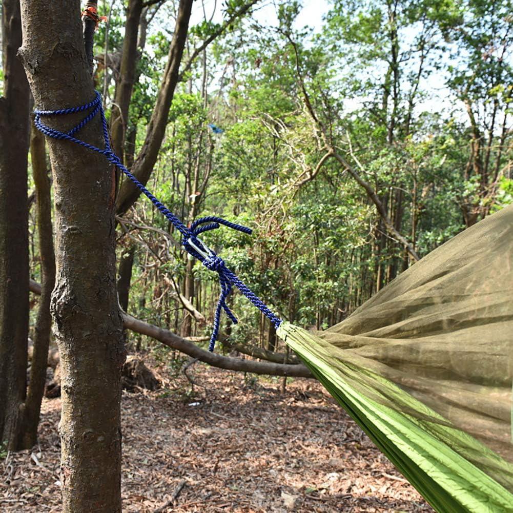 Amaca da campeggio anti-zanzare per giardino campeggio 4 Rete in poliestere. happyhouse009 spiaggia