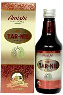 Amishi Naturals Tar Nil Syrup Ayurvedic Medicine For Smokers Cough Bronchitis Asthma