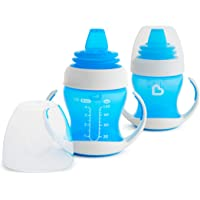 Munchkin Gentle Transition Trainer Cup, 4 Mth+, Blue, 118ml, 2ct