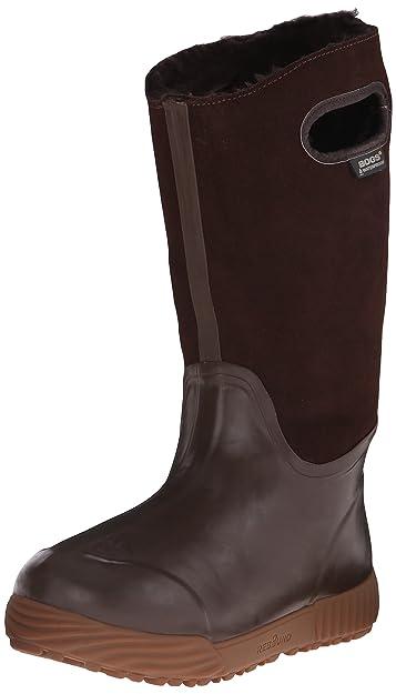 Bogs Women's Prairie Tall Waterproof Insulated Boot, Brown