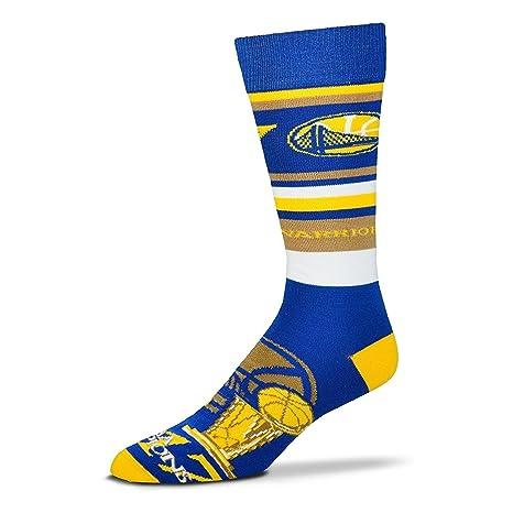 e0f5997e2b2fd8 Bare Feet Golden State Warriors 2017 NBA Champions Squad Stripe Calzini