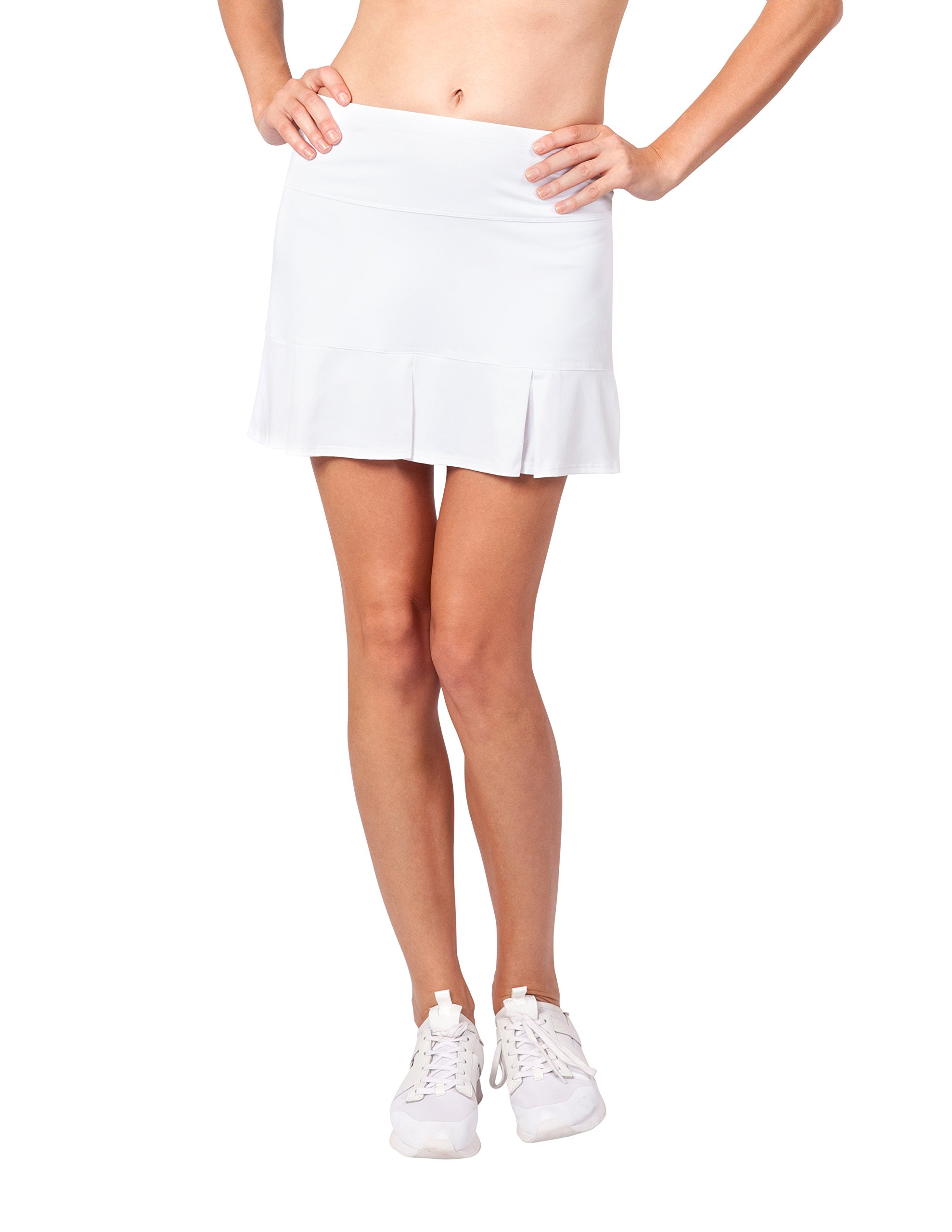 Tail Activewear Women's Doral 14.5 Length Skort Large White