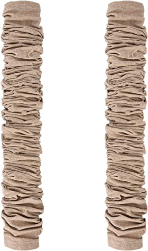 Canomo 2 Packs Chandelier Chain Cover Cord Cover 6 Feet for Chandelier Lighting Wires, Natural Jute
