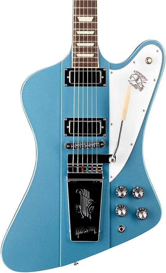 Gibson 2016 Limited Edition Firebird Lira (Tail vibrola Guitarra Eléctrica Faded Pelham Azul
