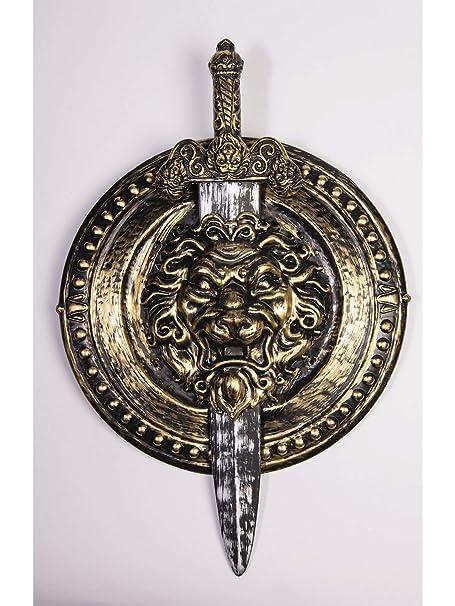 Amazon com: Forum Novelties, Roman Lion Toy Weapon 2Pc Sword