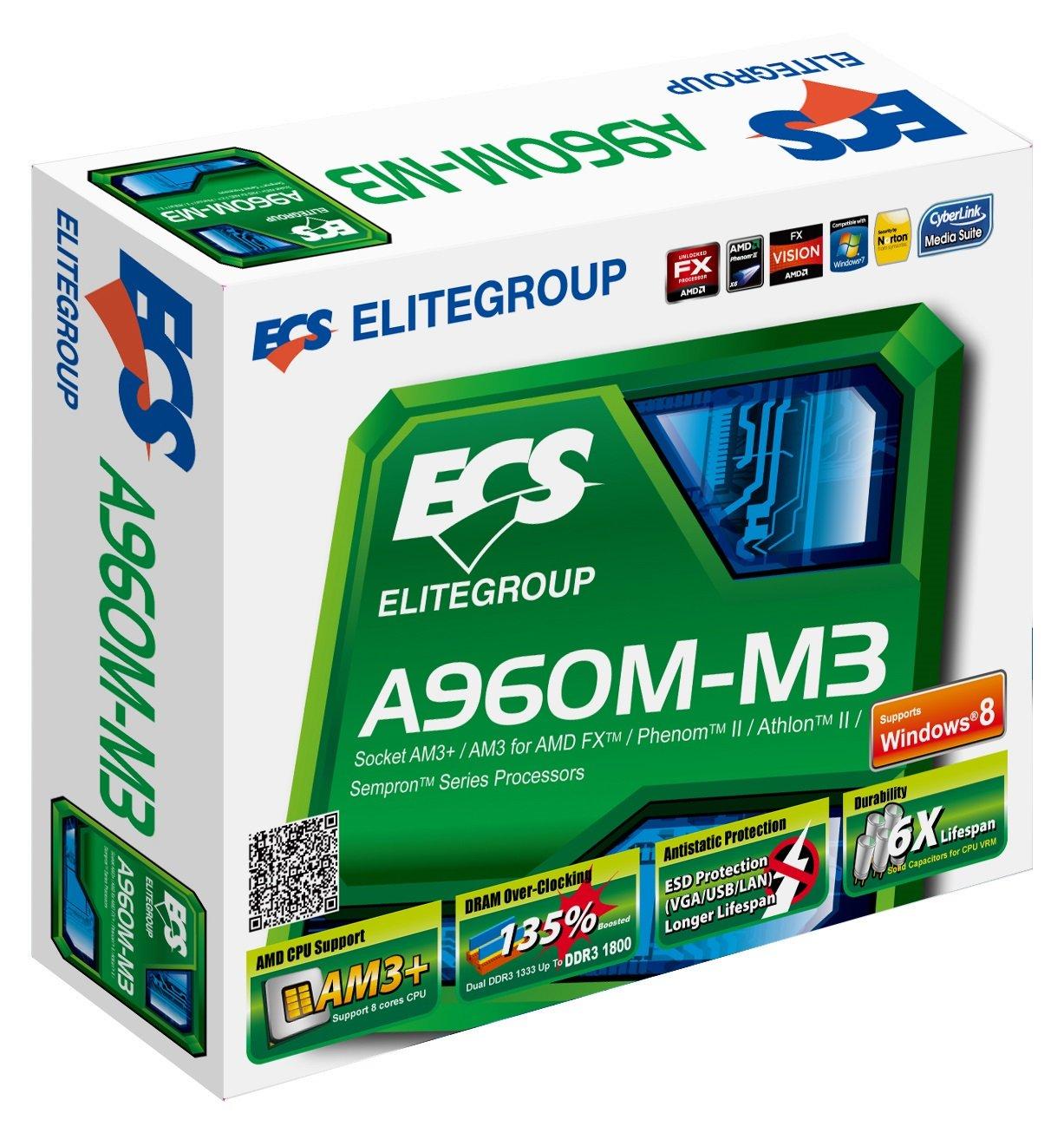 ECS A960M-M3 ATI Display Drivers Download Free