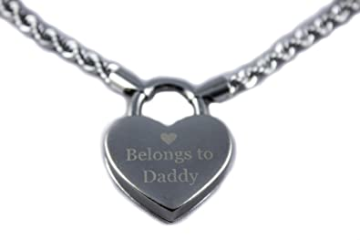 Baby Kayxx Ddlg Heart Lock Belongs To Daddy Day Collar