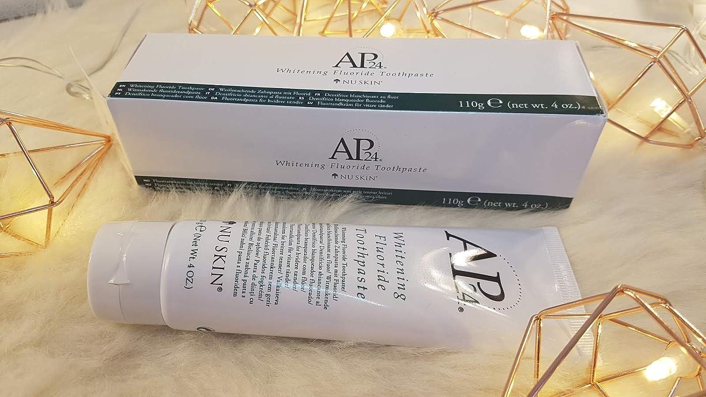 Amazon Com Nu Skin Ap 24 Whitening Fluoride Toothpaste 4oz Beauty