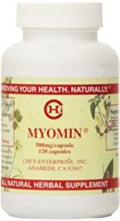 Chis Enterprise 120 Piece Myomin Promotes Healthy Hormone Levels 500mg Capsules