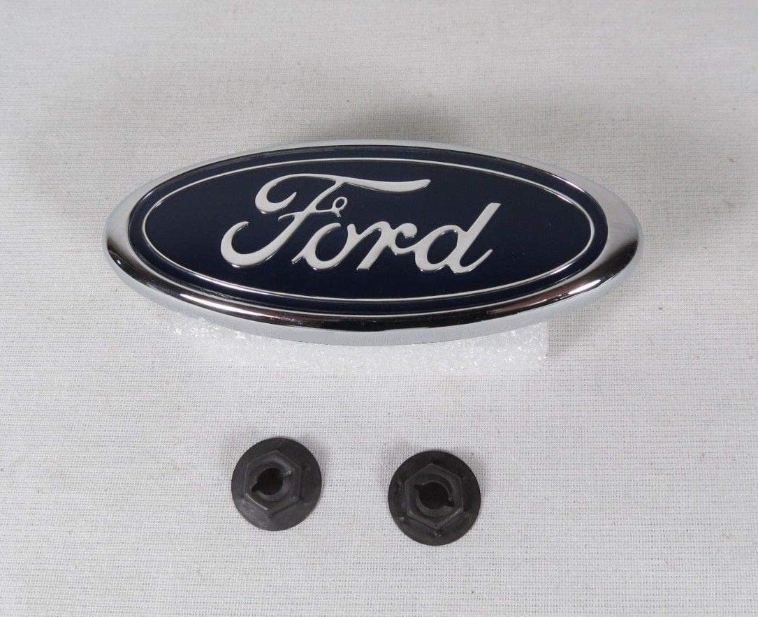 Oval Dark Blue Decal Badge Nameplate for 07-10 Edge 6X2.4 Ford Front Grille Tailgate Emblem 07-10 Sport Trac 05-11 Escape 06-10 Explorer 05-11 Expedition