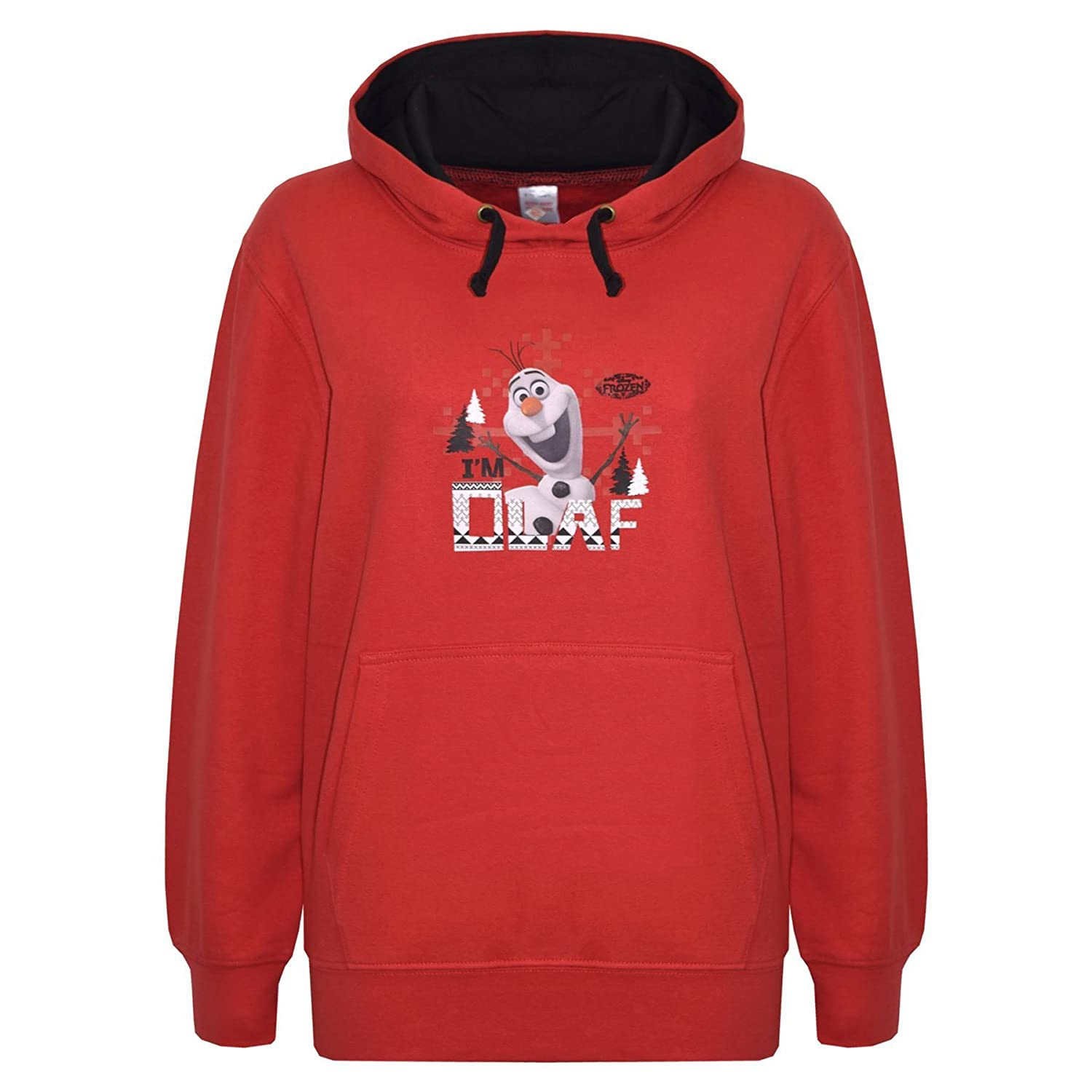 A2Z 4 Kids® Kids Hoodie Girls Boys Official Olaf Print Sweatshirt Top Hoodies New Age 7 8 9 10 11 12 Years
