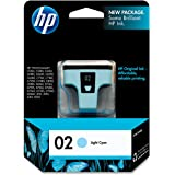 HP 02 Light Cyan Ink Print Cartridge, EAS Sensormatic (C8774WN)