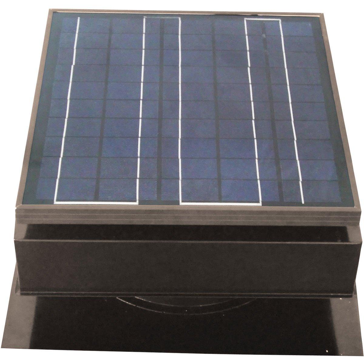 Solar star attic fan complaints - Solar Attic Fan Roof Mount 25 Watt Gray Remington Attic Fan Amazon Com