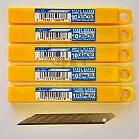 Olfa–Cuchillas de repuesto sab10(50'unidades) 30grados Cuchillas (9mm) compatible