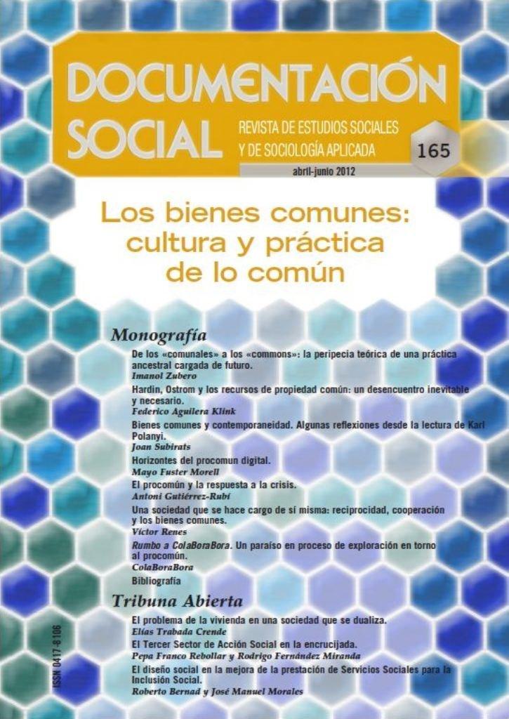 Los Bienes Comunes. Cultura Y Práctica De Lo Común ...