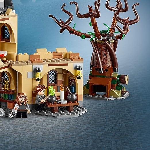 LEGO 75953 Harry Potter Sauce Boxeador de Hogwarts, Juguete de Construcción con Ford Anglia, 6 Mini Figuras y Lechuza Hedwig