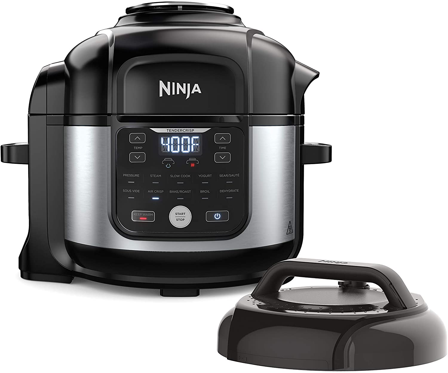 Ninja Foodi (FD302) 11-in-1 6.5-qt Pro Pressure Cooker plus Air Fryer with Stainless finish