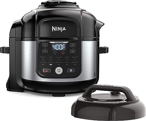 Pro Pressure Cooker /& Air Fryer FD302. 20B-OB Ninja Foodi 11-in-1 6.5-qt