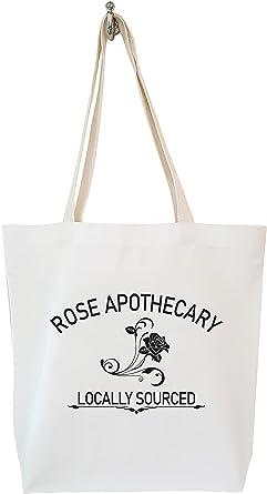 Schitt/'s Creek Inspired Rose Apothecary Drawstring Tote