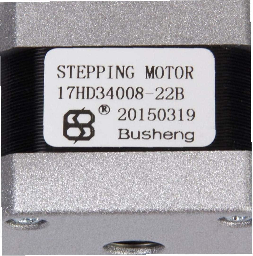 Printer Stepper Motor Nema 17 3D Printer Two Phase 4 Wire Stepper Motor for 1.8Deg 17HD34008-22B Printer Accessory