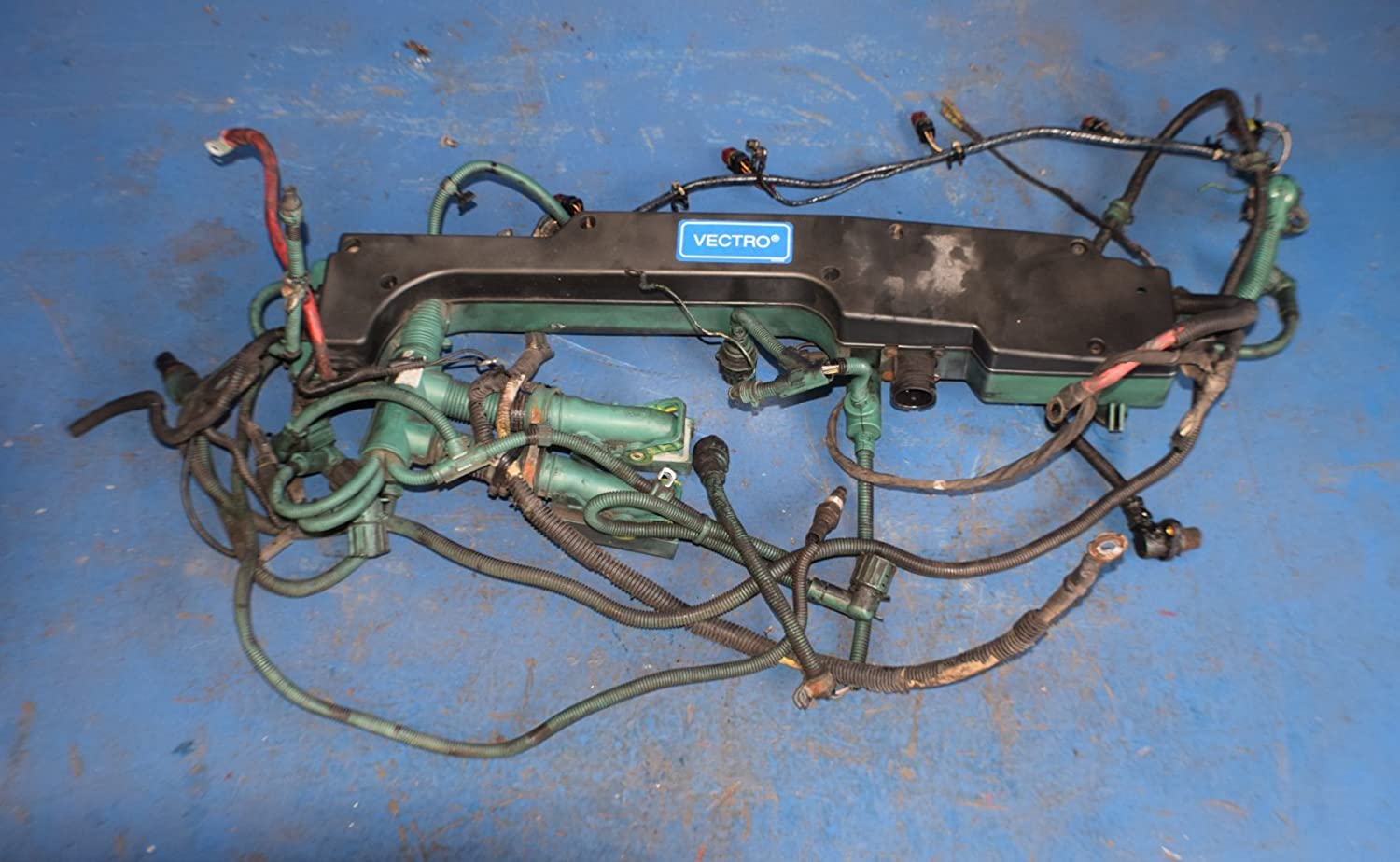 amazon com : volvo d12 ved12 engine wire harness see pictures no core ->  7817 : everything else