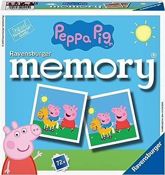 Ravensburger 21415 Peppa Pig Memory® - Juego de Mesa: Hurter, William H.: Amazon.es: Juguetes y juegos