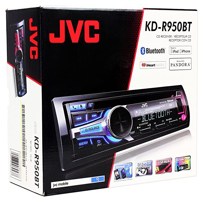JVC KD-R950BT Receiver Drivers for Windows 7
