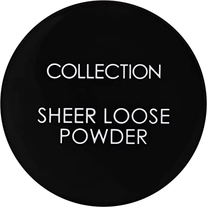COLLECTION Sheer Loose Ultra Fine Powder, Barely There: Amazon.co.uk: Beauty