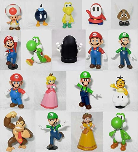 Gift Under 15 Dollars for Boys Super Mario Donkey Kong Figure Action Toys 6/'/'