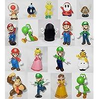 "Super Mario Brothers: 2"" Mini Figures Set of 18"