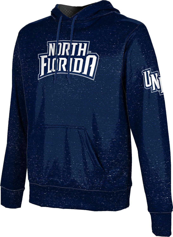 University of North Florida Mens Pullover Hoodie Heathered School Spirit Sweatshirt