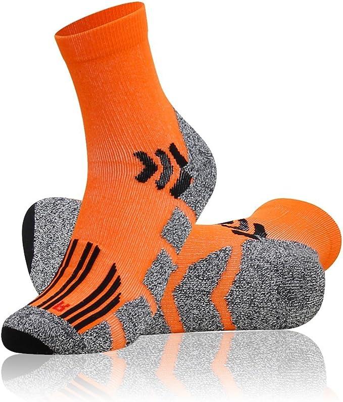 TSLA Men /& Women 6-Pairs Athletic Performance Running No Show Active Socks