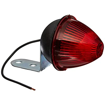 Grote 45022 Red Beehive Clearance Marker Light (with Fixed-Angle Mounting Bracket): Automotive
